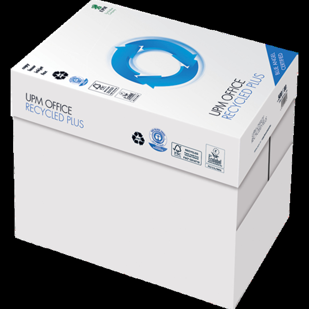 Copy paper Recycled Plus A4 80g W/O holes