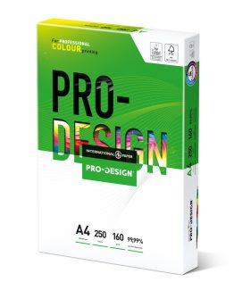 Copy paper Pro Design A4 160g (250)