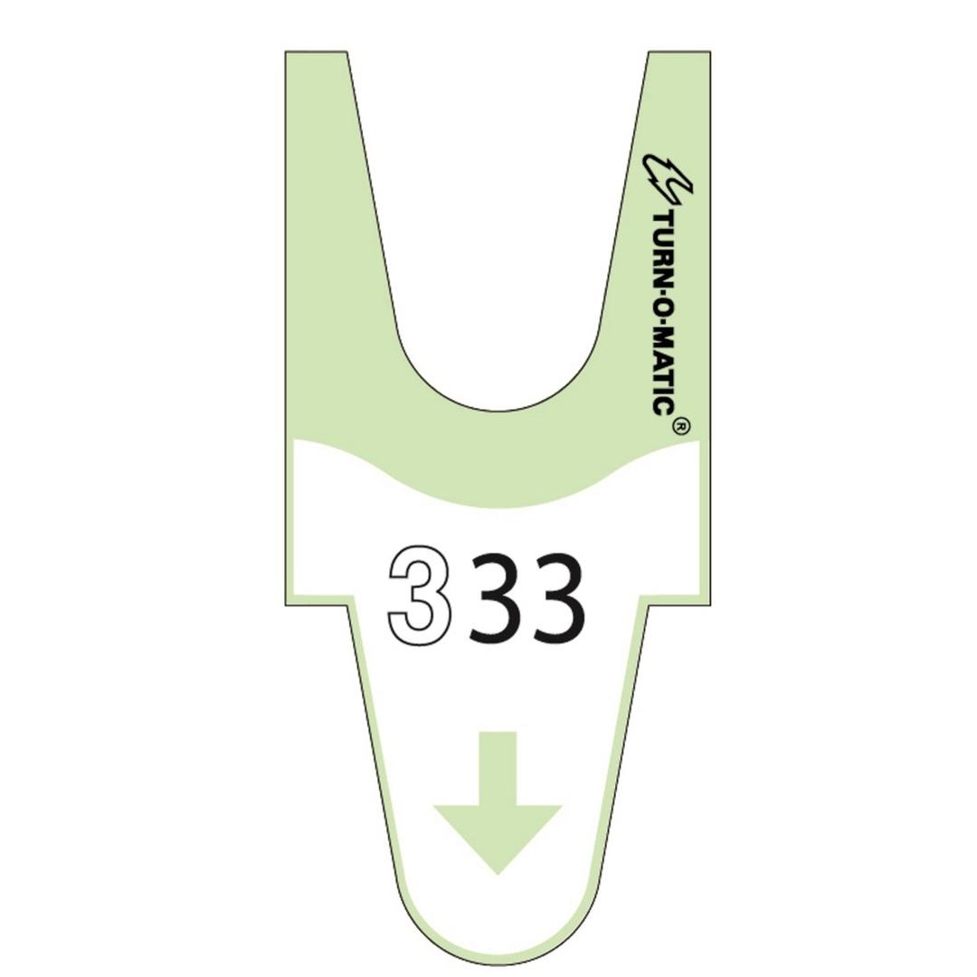 Tickets T90 6 rolls green