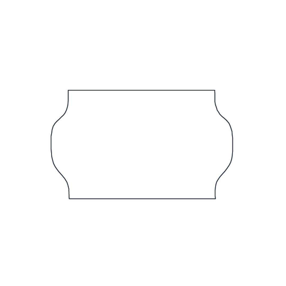 METO Labels 32x19 G1 white 30-rolls