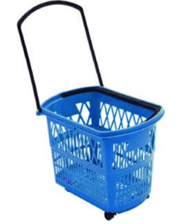 Shopping boxet Bobby 52 L blue