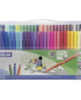 Milan Fibertip pens 50/case