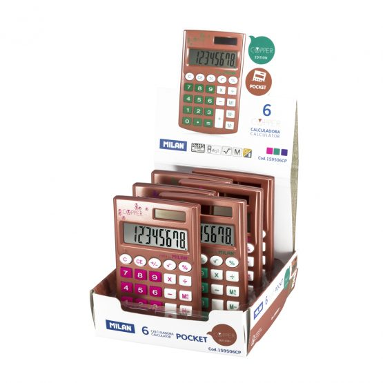 Milan Copper calculator mix