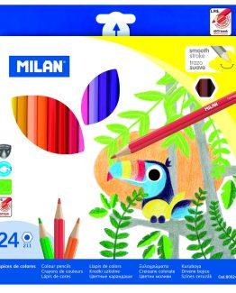 Milan Color pens 24/box