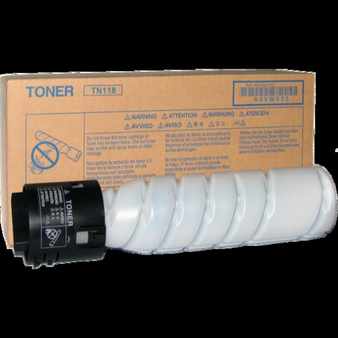TN118 toner black 12K 2-pack