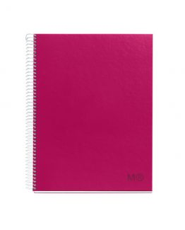 Notebook A4 CandyColors raspberry red