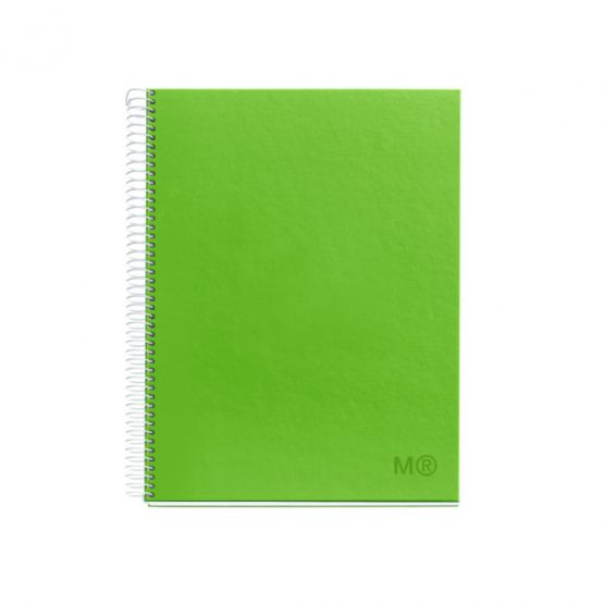 Notebook A4 CandyColors green