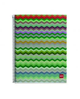 Notebook A4 EcoZigZag Miquelrius