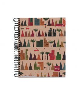Notebook A4 Ecovillage