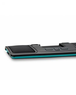Mousetrapper wrist rest for advance 2.0 black/turquoise