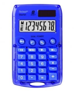 Rebell pocket calculator Starlet violet