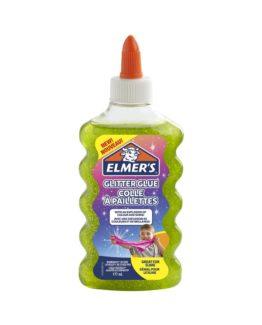 Glitter glue green Elmers 177ml