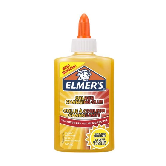 Color changing liquid glue yellow Elmers 147ml
