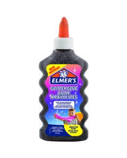 Glitter glue black Elmers 177ml