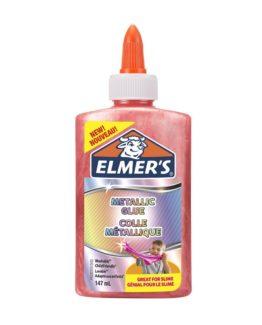 etallic liquid glue pink
