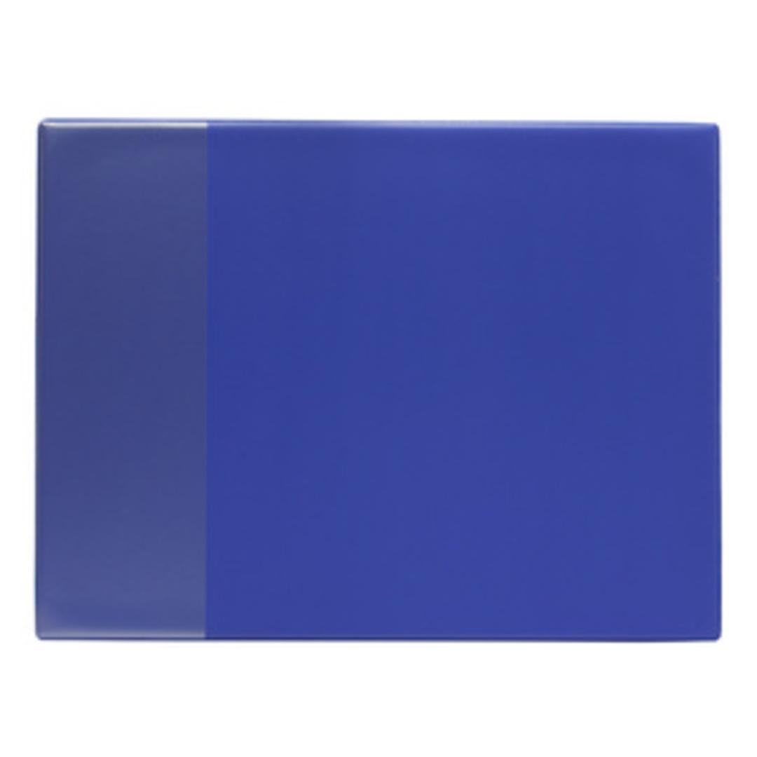 Desk mat 40x52 PVC blue