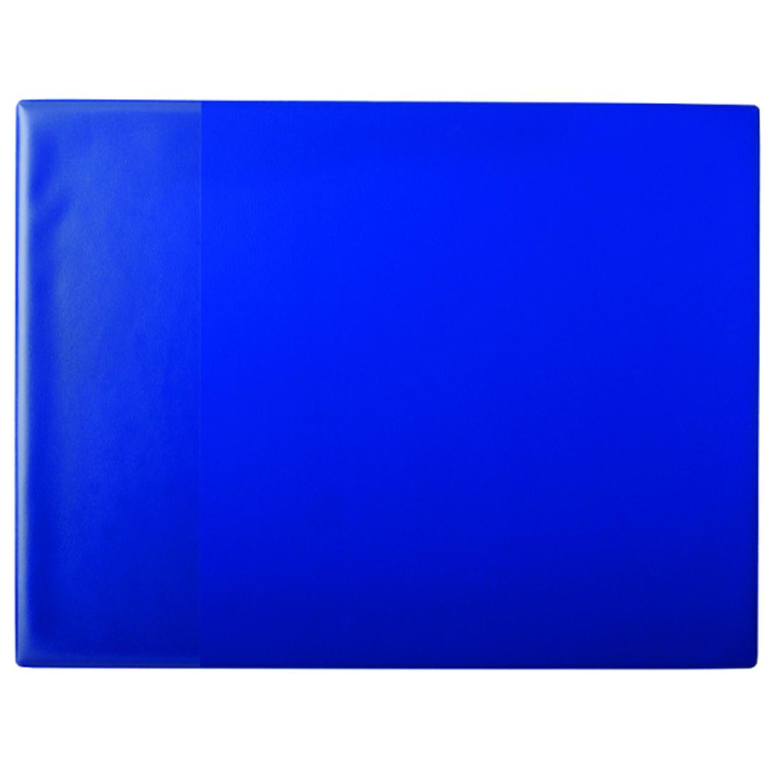 Desk mat 40x52 PP w/pocket blue