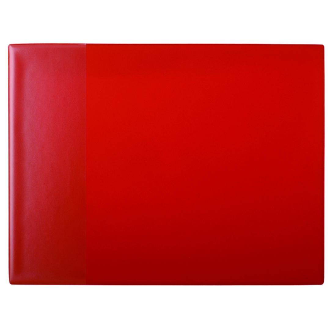 Desk mat 40x52 PP w/pocket red
