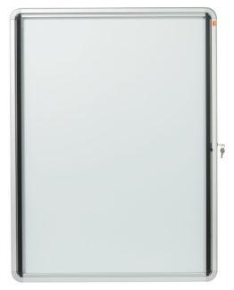 Display case glazed int 9xA4 white