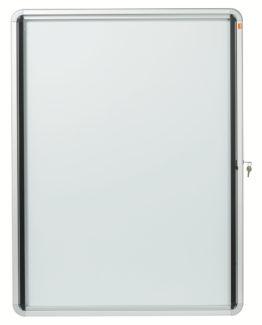 Display case glazed ext 9xA4 white