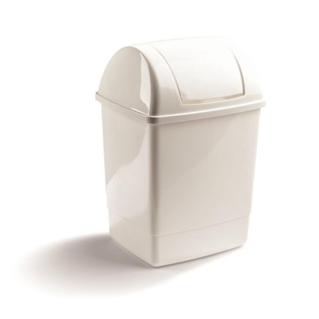 Waste bin ''Swing'' 26L white