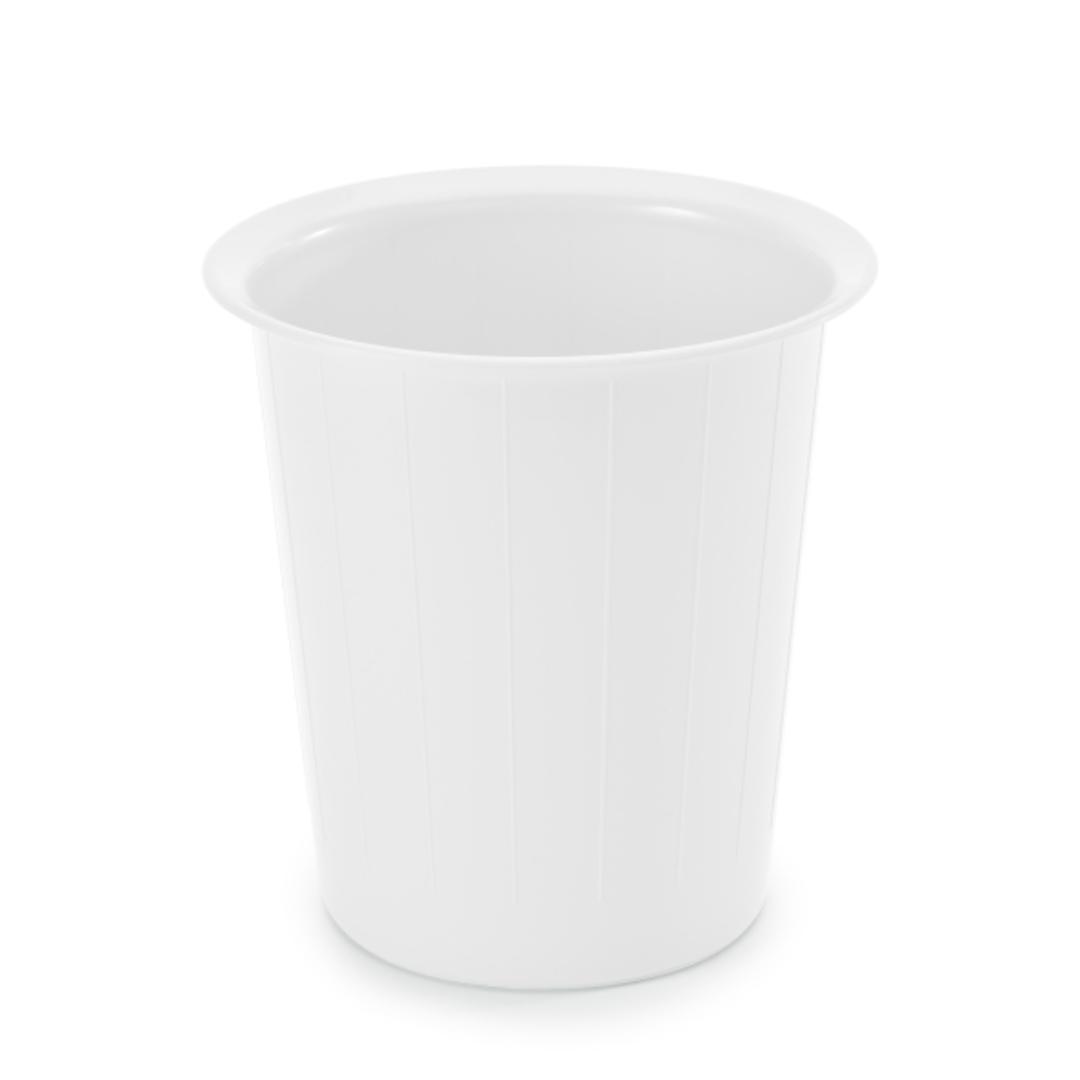Waste bin 14L round white