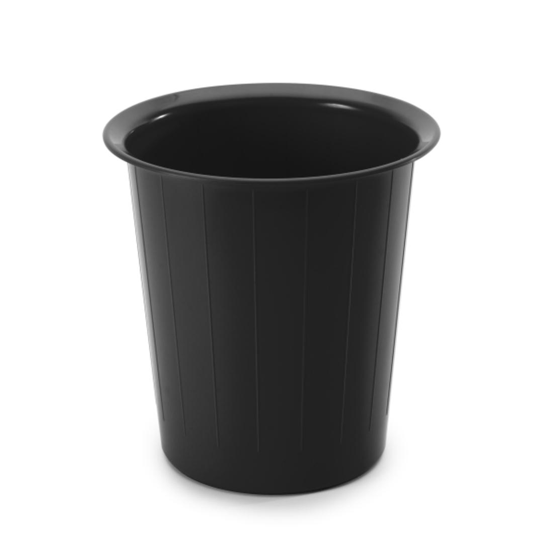 Waste bin 14L round black