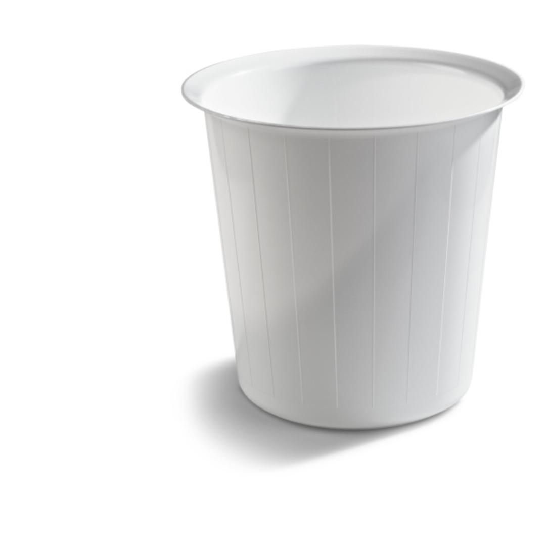 Waste bin 22L round white