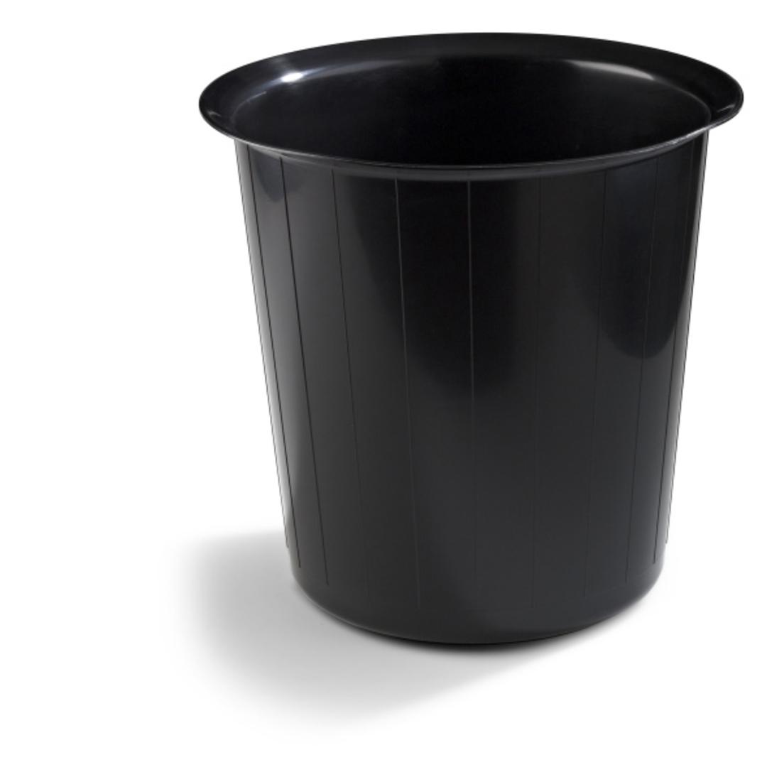 Waste bin 22L round black