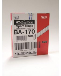 Spare blades NT-Cutter 9mm A-170 10/pack