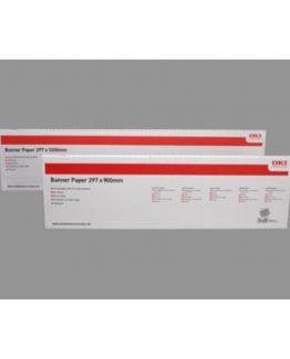 Bannerpapir 215x1200  matt A4 160g  (40)