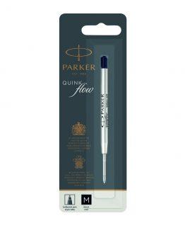 Parker ballpoint pen refill Quinkflow M black blist