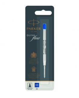 Parker ballpoint pen refill Quinkflow M blue blist