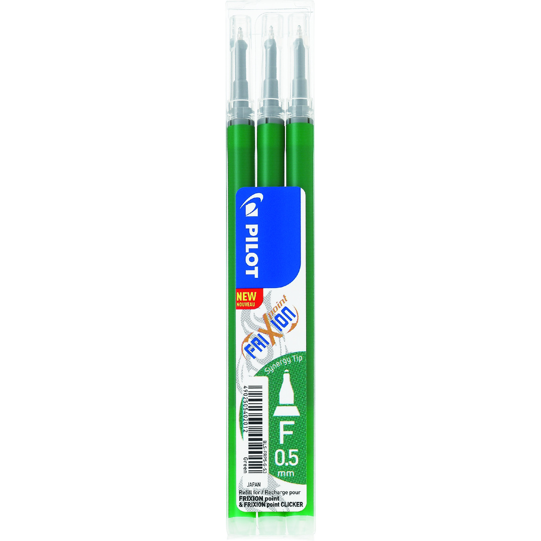 Frixion Point 0,5 refill green (3)