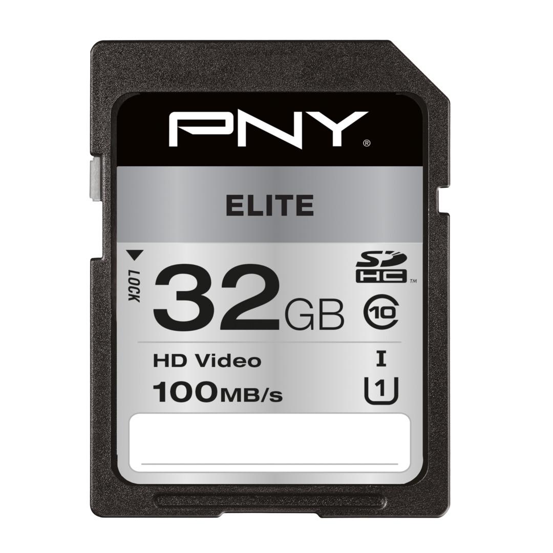 PNY SDHC High Elite 32GB Class 10