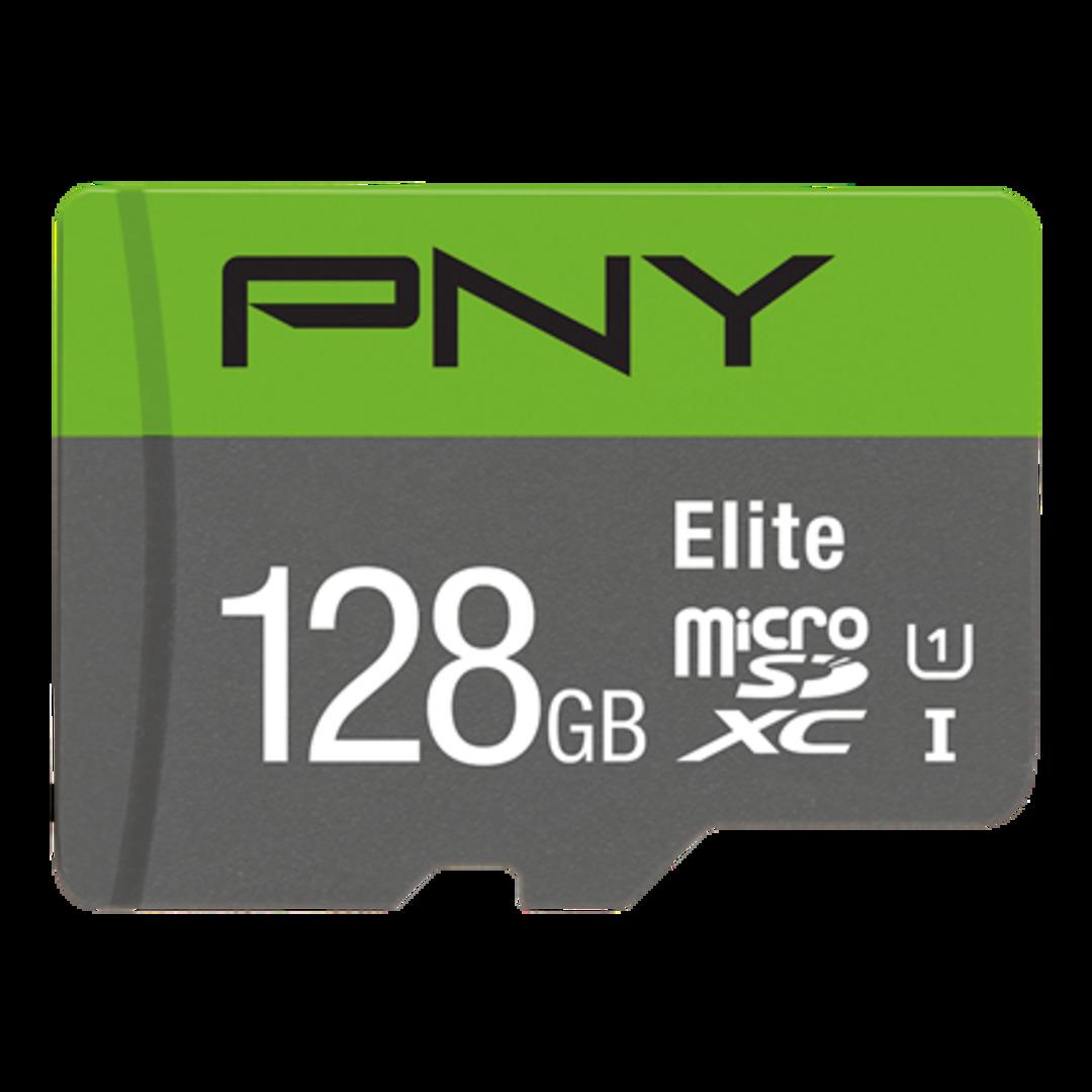 PNY Micro SDXC Elite 128GB Class 10 w/adapter