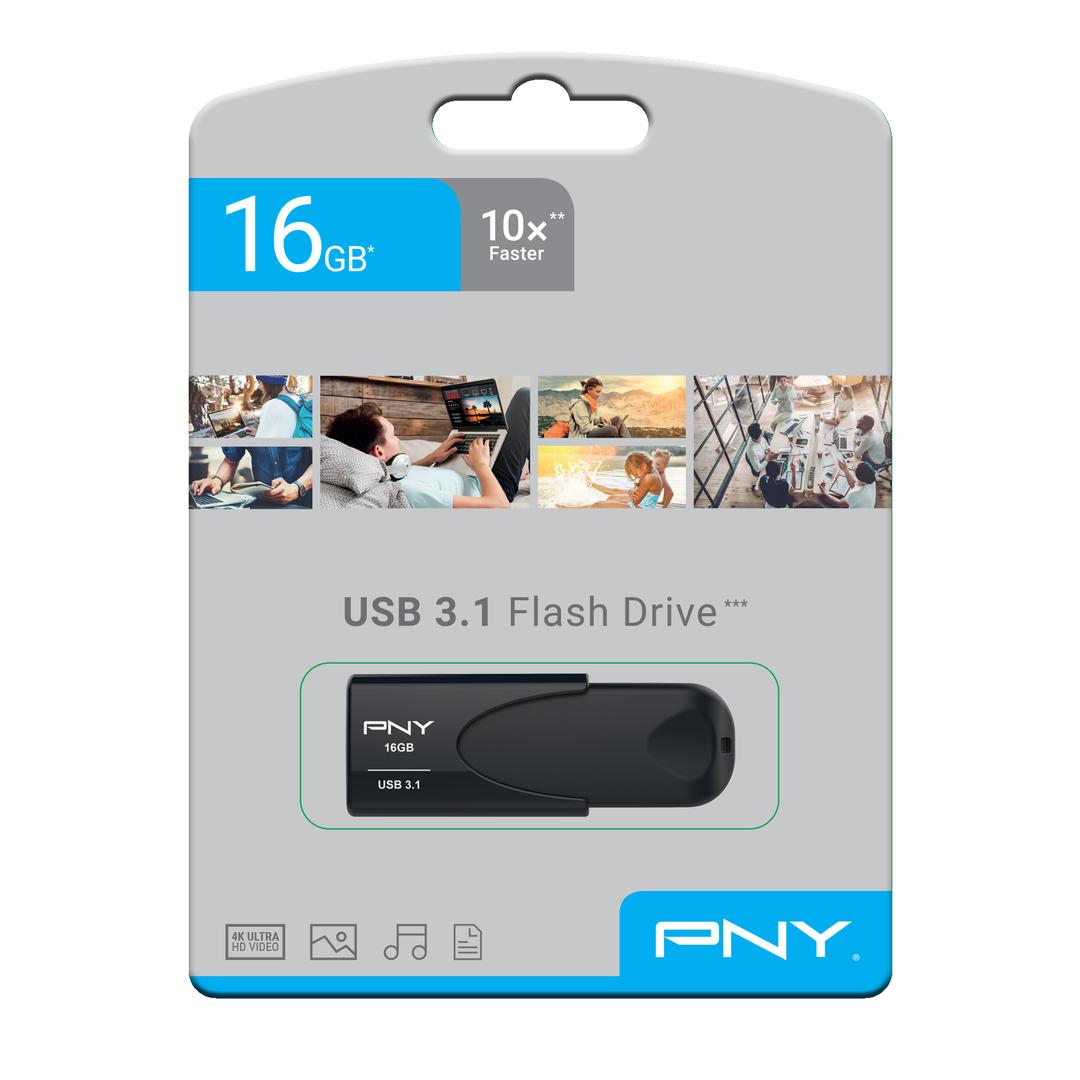 USB 3.1 Attache 4 16GB, Black