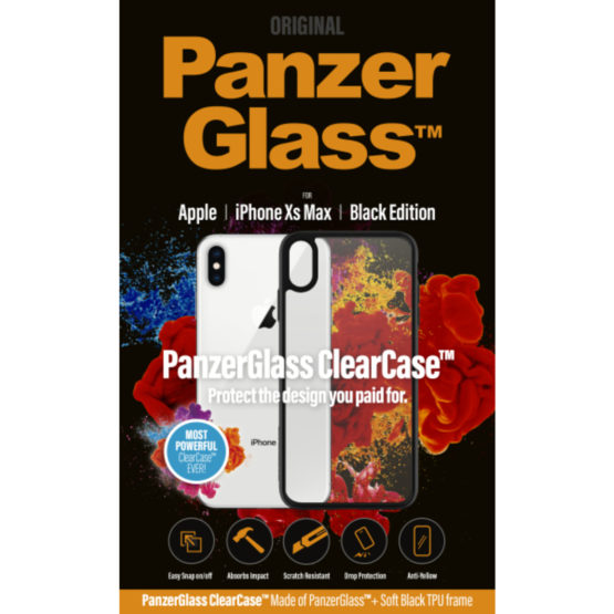ClearCase with BlackFrame for iPhone Xs Max