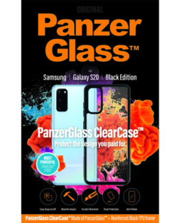ClearCase with BlackFrame for Samsung Galaxy S20