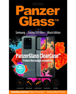 ClearCase with BlackFrame for Samsung Galaxy S20 Ultra