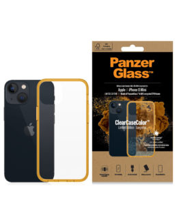 ClearCase for iPhone 13 Mini, Tangerine AB