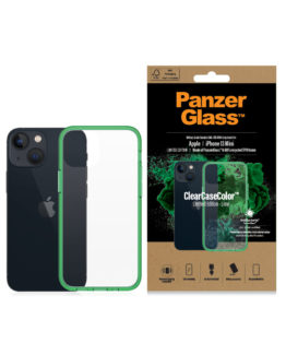 ClearCase for iPhone 13 Mini, Lime AB