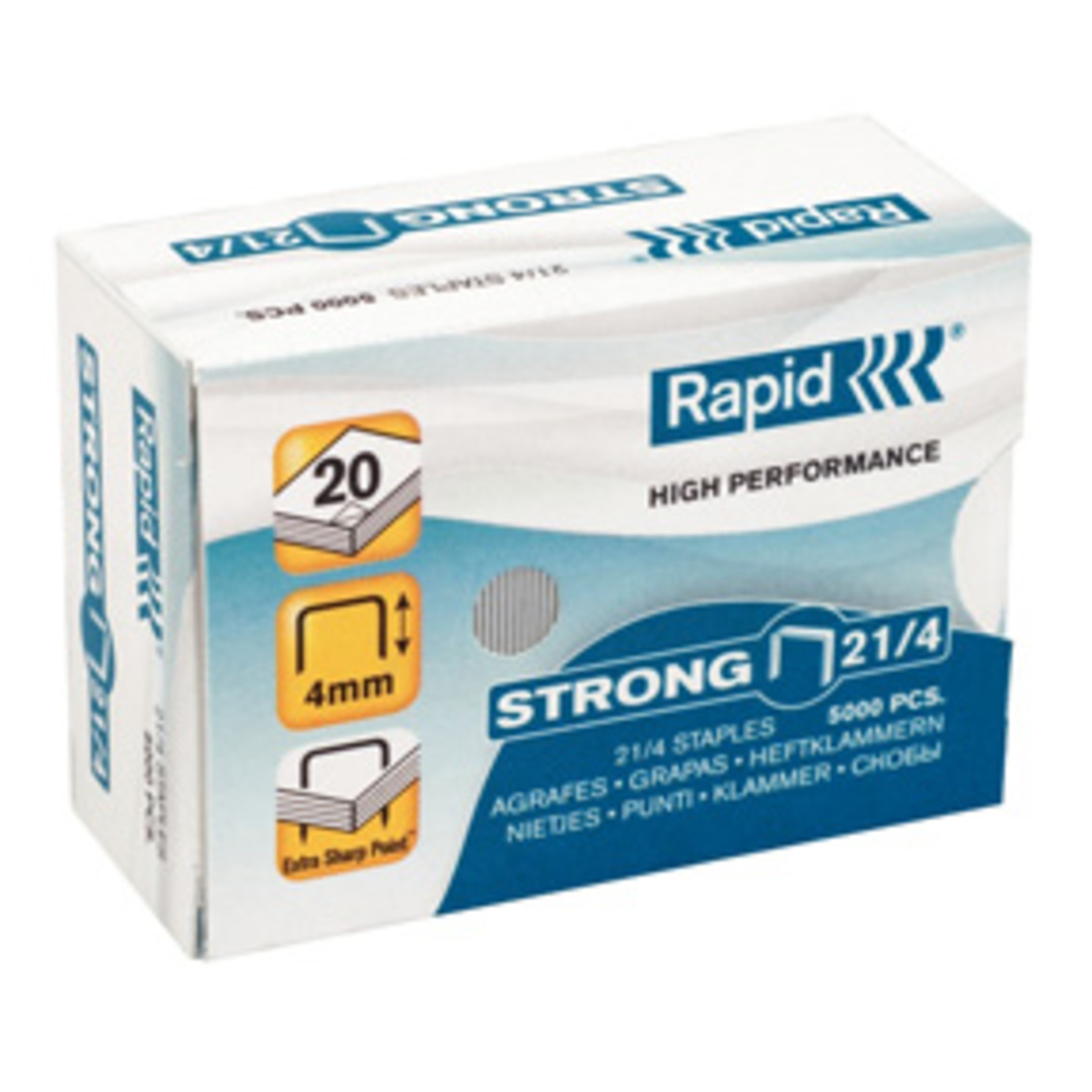 Staples 21/4 strong galv (5000)