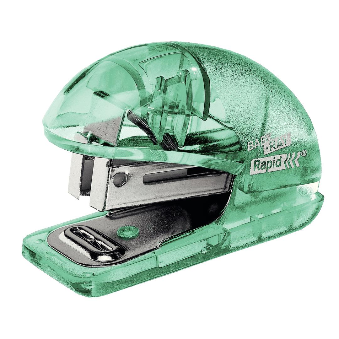 Stapler Colour'Ice 10 sheets+staples green