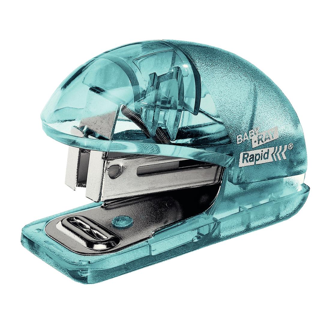 Stapler Colour'Ice 10 sheets+staples blue