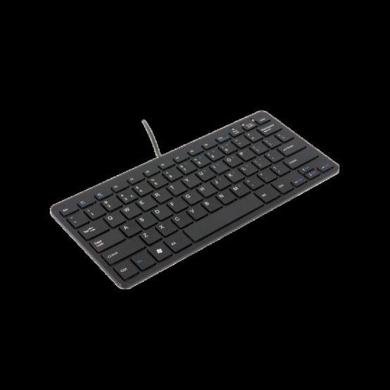R-Go Compact Keyboard (UK) black coreded
