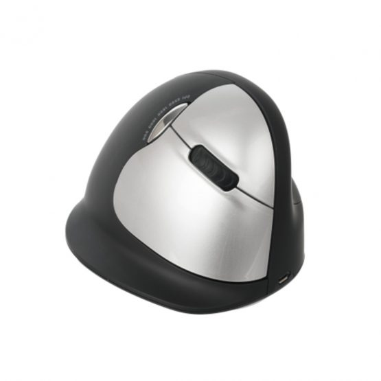 R-Go HE Mouse Vertical Wireless, L, Rght