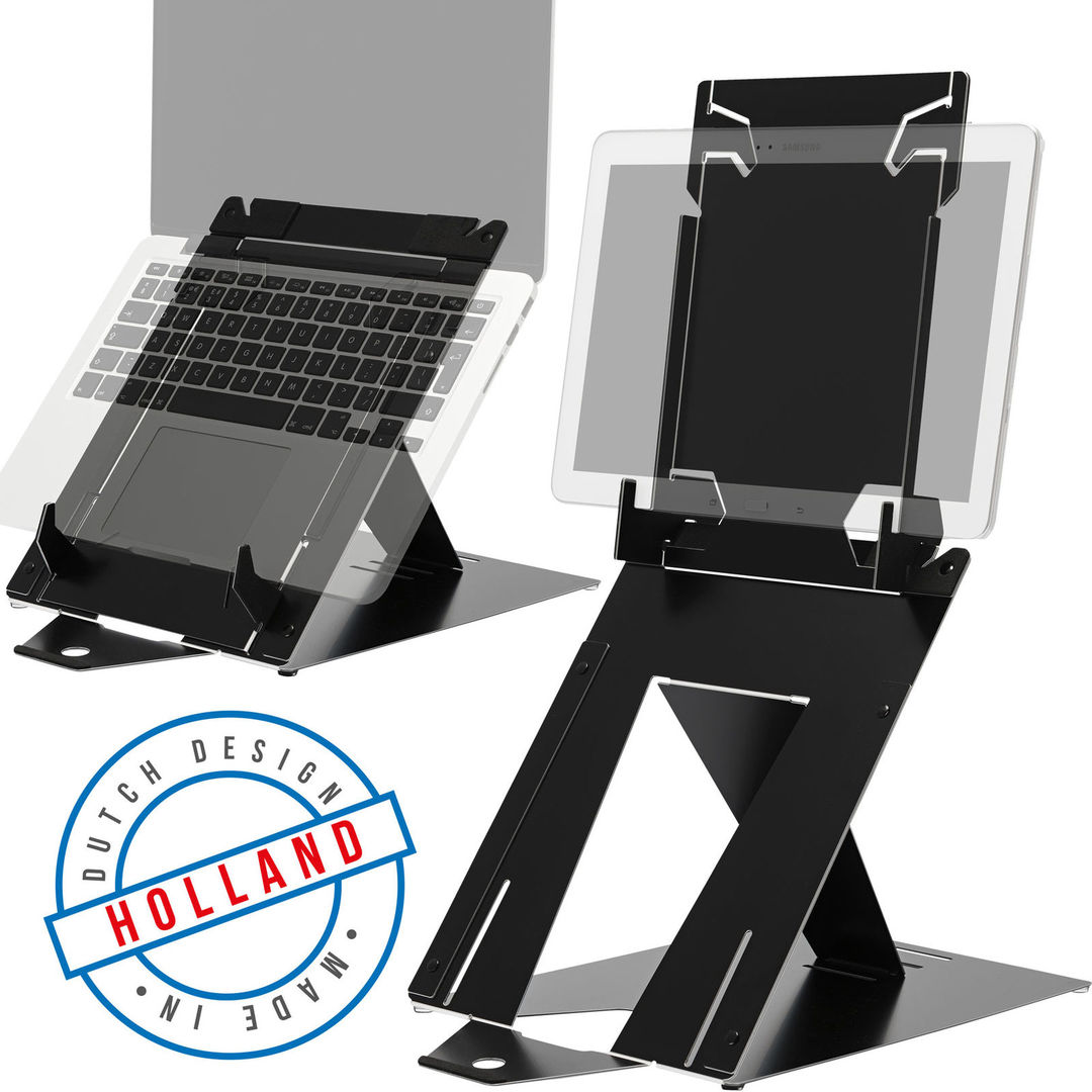 R-Go Riser Duo, Tablet and Laptop Stand