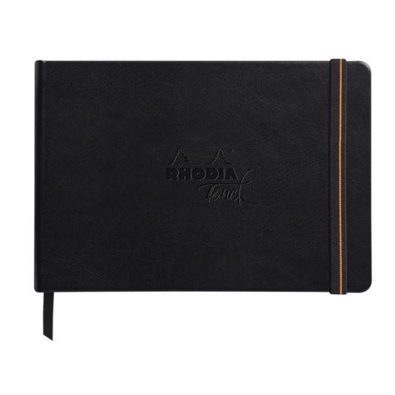 Rhodia Pen&inkwash hard A5 32sh blank 200g