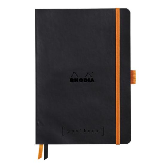Rhodia Goalbook soft black A5 dot ivory